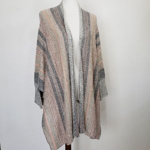 Maurices Dolman Hi Low Open  Cardigan Sweater